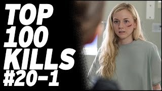 Top 100 Kills & Deaths from The Walking Dead: 20-1