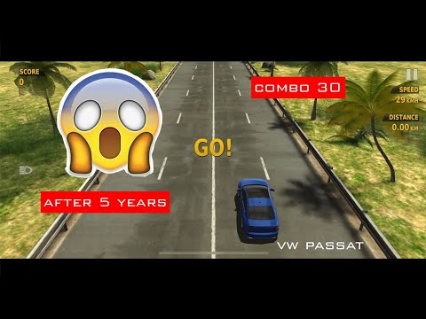 Traffic Racer Simulator - New Volkswagen Passat - Android - İOS Gameplay HD - High Score