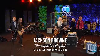 """Jackson Browne """"Running On Empty"""" (live at NAMM Show Jan 2018)"""