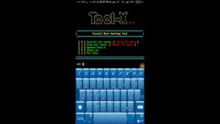 How to use tool x termux