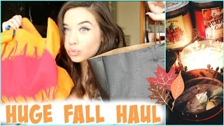 Huge Fall Haul 2014! || Brandy, Urban Outfitters, Bath + Body Works Thumbnail