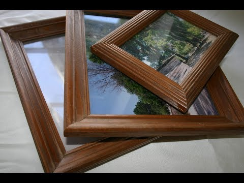 How to Make a Picture Frame I Easy Ways I DIY Woodworking