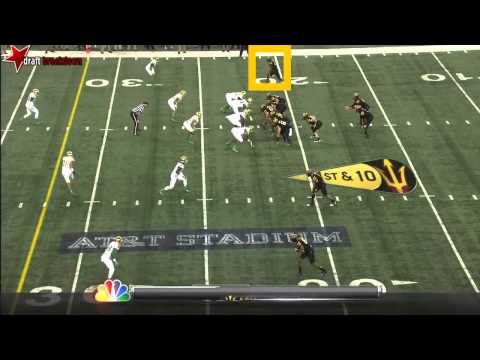 Jaelen Strong (WR, Arizona State) vs Notre Dame 2013