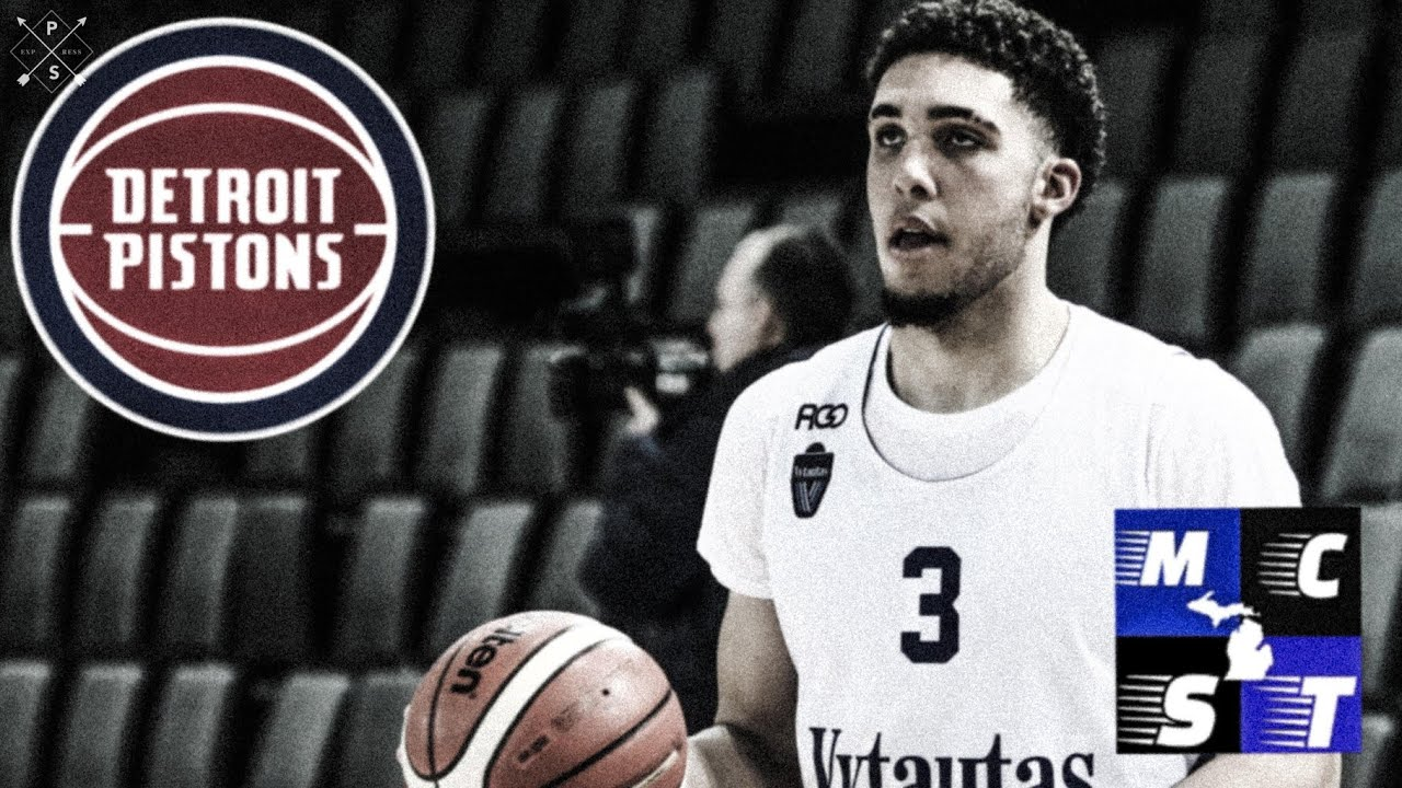 Pistons to sign LiAngelo Ball to one-year, non-guaranteed contract ...