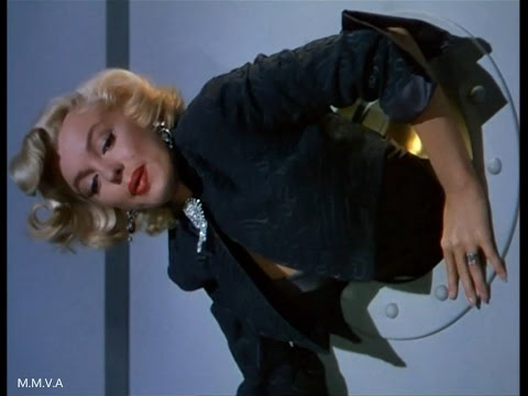 "Marilyn Monroe in ""Gentlemen Prefer Blondes"" - Stuck In The Round Window"