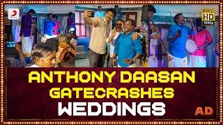 Anthony Daasan GATECRASHES weddings and performs! | The AD Experience