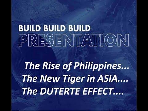 PHILIPPINES 2018-2022 BUILD BUILD BUILD  DUTERTE PROJECTS
