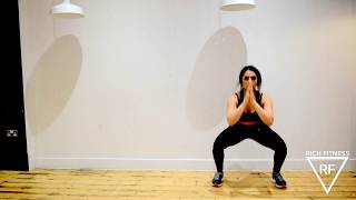 SQUAT KICKS | FITNESS FOR BOLLYWOOD | RICH FITNESS