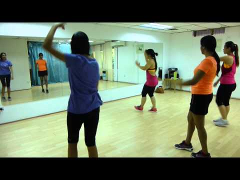 Diana learns Zumba : Adult Fitness and Dance Classes @ Lara's Place (Section 17, PJ)