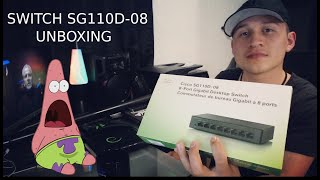 El mejor Switch para red Cisco SG110D-08 para tu EMPRESA   UNBOXING   ROOT CONNECTION