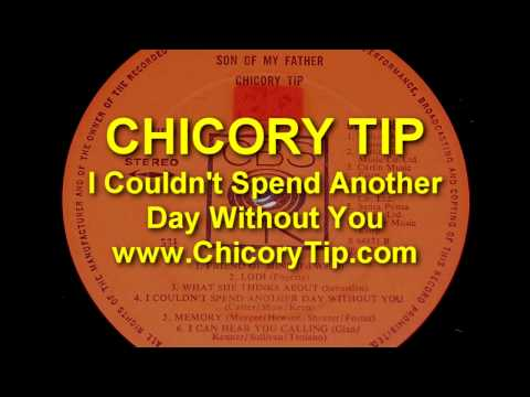 CHICORY TIP - I COULDN'T SPEND ANOTHER DAY WITHOUT YOU (AUDIO)