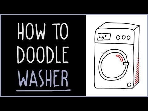 Learn How to Doodle a Washer (drawing tips)