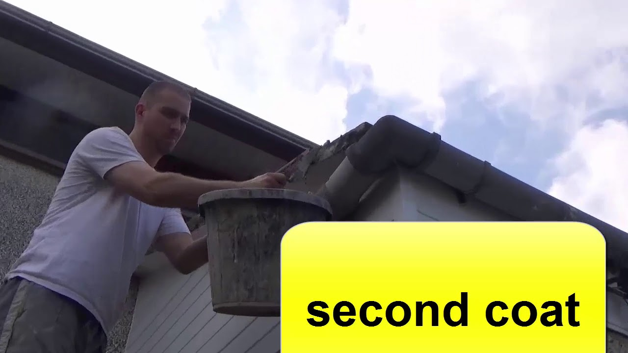 How To Cement Roof Tiles Pointing Youtube