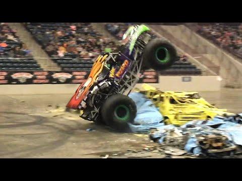 War Wizard Monster Truck Freestyle - Monster Truck Nationals - Corbin, KY 2-16-19