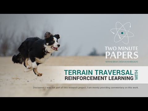 Terrain Traversal with Reinforcement Learning | Two Minute Papers