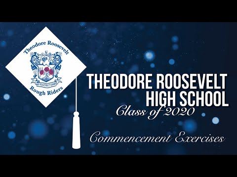 June 3 - Theodore Roosevelt High School 2020 Commencement Exercises