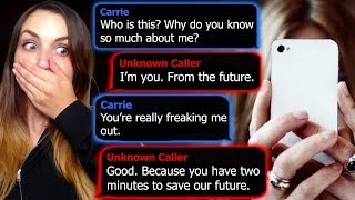 TEXTS FROM MY FUTURE SELF?! | Two Terrible Text Chat Stories