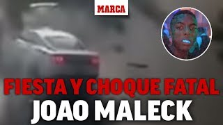 El accidente de Joao Maleck que provocó el fallecimiento de una pareja de recién casados I MARCA
