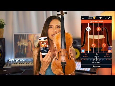Как настроить скрипку дома
