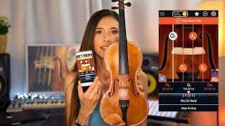 Як налаштувати скрипку з допомогою мобільного телефону легко і швидко