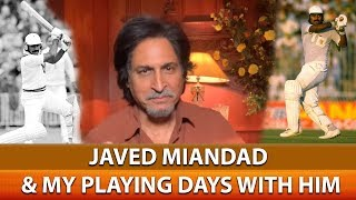 Javed Miandad & my playing days with him | My top 5 Greats of Pakistan
