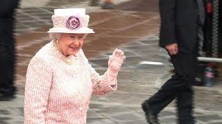 La reine Elizabeth II hôte de la Ville de Paris