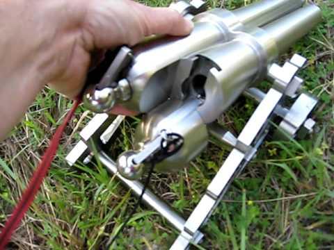 Signal Cannon 10 Ga  Double barrel Salute