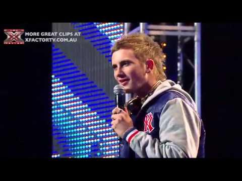 Josh Brookes X-factor audition Usher - You got it bad