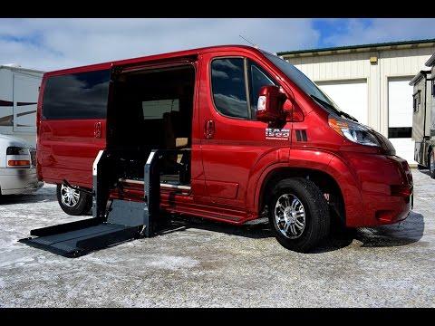 Best Wheelchair Van Ever! | RAM ProMaster Mobility Conversion Van | Paul Sherry Conversion Vans