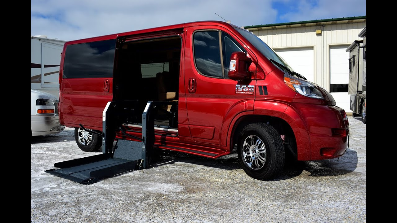 Best Wheelchair Van Ever  RAM ProMaster Mobility