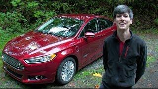 2014 Ford Fusion Energi Titanium - Review & Test Drive