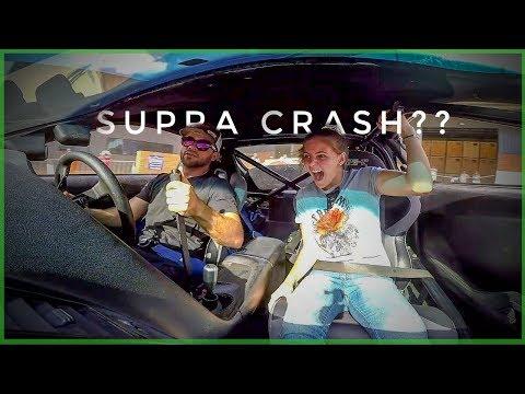 Toyota Supra Drift Car Vs Girls Reaction