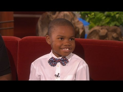 Ellen Meets the 'Exasperating' Kid!
