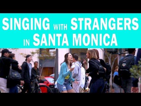 Singing with Strangers in Santa Monica