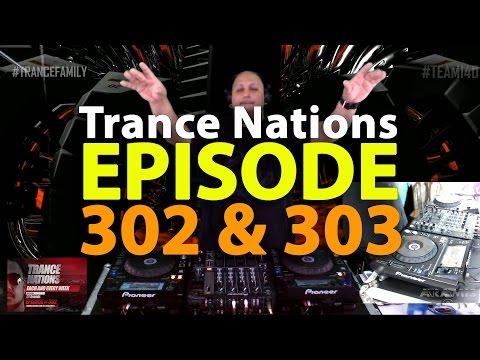 DJ Aramis Trance Nations ep 302 & 303
