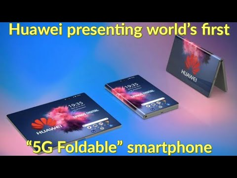 """huawei foldable smartphone """" first 5G Foldable smartphone release date  2019 Mp3"""