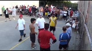 2010 1 Wall Nationals    MOD Sostre & Roberts vs Bastidas & Chapman  Match point alleged avoidable h