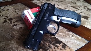 CZ 75 9mm Compact PCR. MIDDLEWEIGHT AWESOMENESS