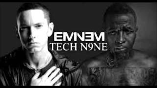 Download Tech N9ne Feat. Eminem & Krizz Kaliko- Speedom WWC2 (Clean Version) MP3 song and Music Video