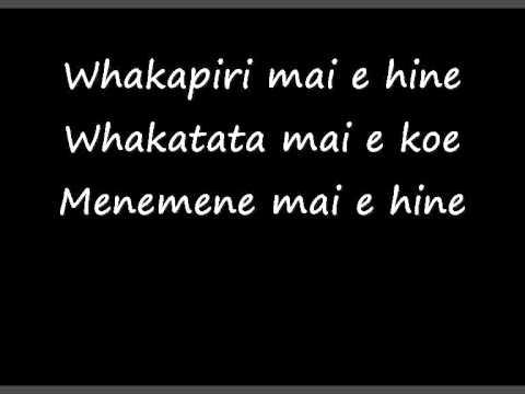 Aaria - Kei A Wai Rā Te Kupu E Lyrics