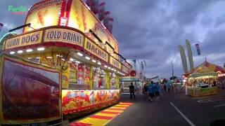 Guests Enjoy Rides, Games And Food At Fiesta Carnival