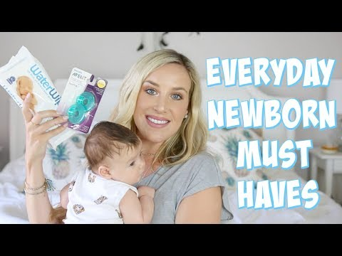 NEWBORN ESSENTIALS! WHAT I ACTUALLY USE EVERY DAY | OLIVIA ZAPO
