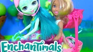 #Куклы Enchantimals Taylee Turtle Мультик ЧЕЛСИ и ТАЙЛИ! Видео для Детей #Игрушки | Барби