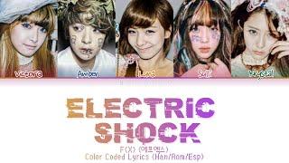 F(X) (에프엑스) - 'Electric Shock' Color Coded Lyrics