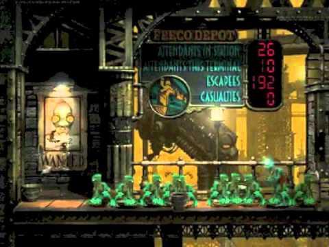 Oddworld: Abe's Exoddus PSX Playthrough Part 8 (Executive Office)