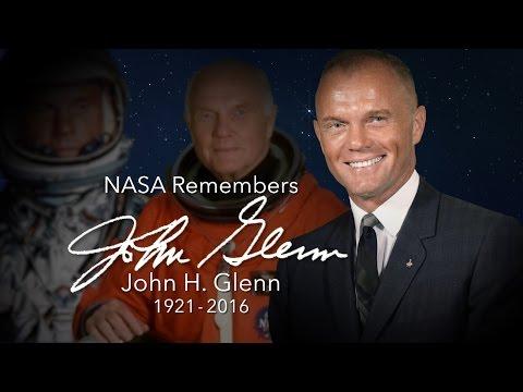 Former NASA Astronaut, U.S. Senator John Glenn Laid to Rest in Arlington Cemetery