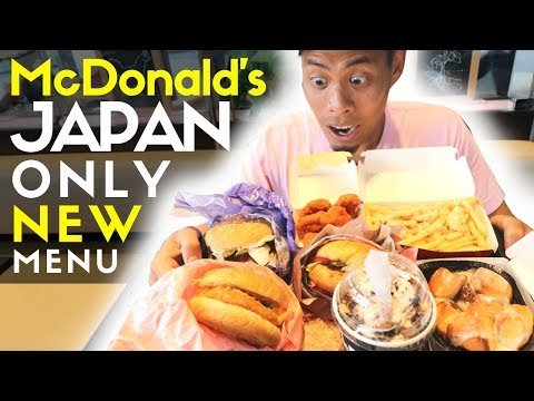 How McDonalds Japan Only Fast Food Menu is Insanely Unique!