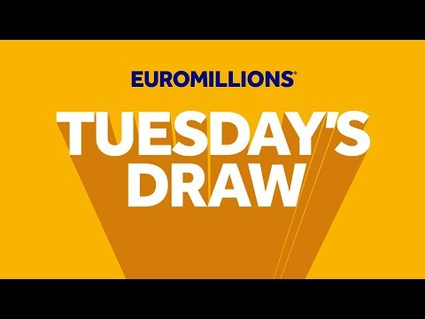The National Lottery 'EuroMillions' Draw Results From Tuesday 21st January 2020.