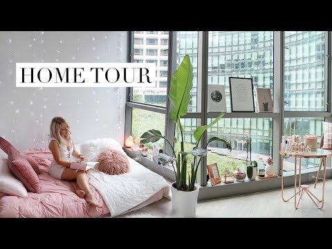 My Studio Apartment Home Tour | PINTEREST INSPIRED