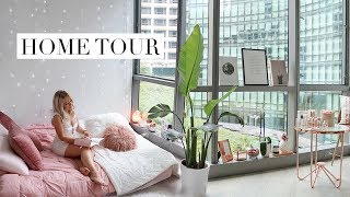 My Studio Apartment Home Tour | PINTEREST INSPIRED